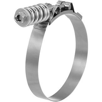 BREEZE HD Spring-Loaded T-Bolt Clamp