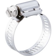 BREEZE Power-Seal Worm Drive Hose Clamp